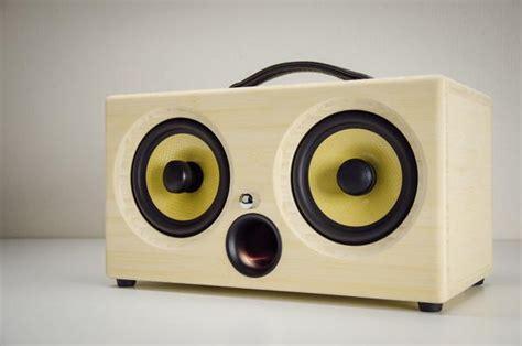 Custom Audio Minimalis ibox xc bamboo wireless bluetooth speaker thodio