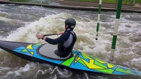 Canoe Slalom Boat by Gibbons New Boat Testing Nelo Canoe Slalom C1 At
