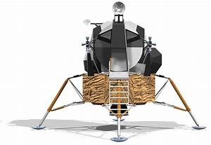 Lunar Excursion Module - Solid Edge,STEP / IGES - 3D CAD ...