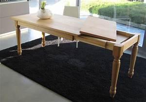 Tavolo allungabile artigianale in legno massello di rovere for Tavolo in legno massello allungabile