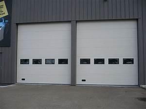 Portes de garage le mans sarthe au serrurier lehoux for Porte de garage industrielle
