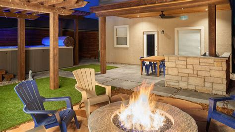 House Backyard Design by Go Designs El Paso Landscaping Design Architecture