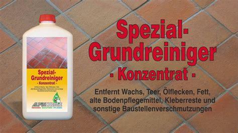 Sandstein Reinigen Flecken by Spezial Grundreiniger Anwendung Z B Alte Wachsschichten