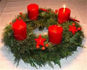 Dicke Rote Kerze : adventkranz binden familien feiern feste ~ Eleganceandgraceweddings.com Haus und Dekorationen