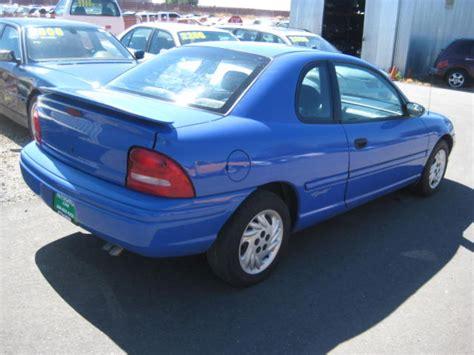 1997 Dodge Neon For Sale Stkr9533 Autogator Sacramentoca