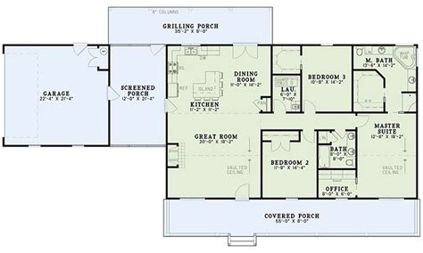 one level house plans with basement country ranch house plan 82350 level one house plans