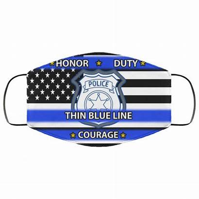 Line Thin Mask Courage Police Honor Sugar