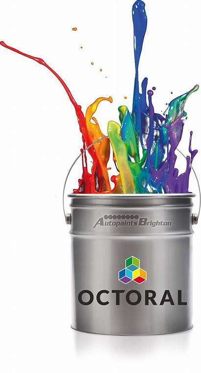 Paint Octoral Colour Code Mixed 1l Waterbase