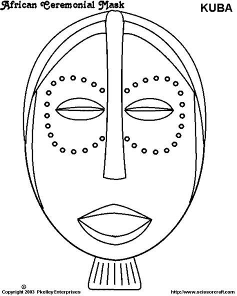 Kleurplaat Afrikaanse Vrouw by Masker 224 La 232 Re De Kirikou