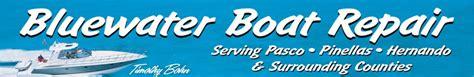 Boat Detailing Pinellas County by Bluewater Boat Repair Fiberglass Boat Repair And Service