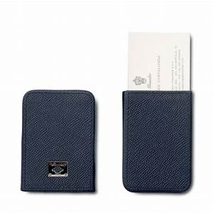 pineider city chic leather business card holder With chic business card holder