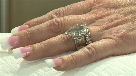 view full gallery of fresh lost wedding rings displaying
