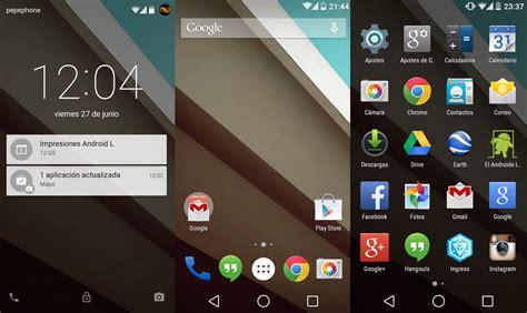 android l android l preview primeras impresiones el androide libre