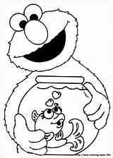 Elmo Coloring Pages Printable sketch template