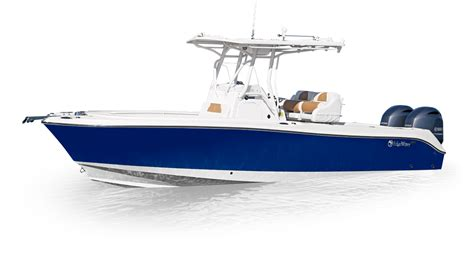 Fishing Boat Paint Designs by 245cc Center Console Fishing Boat Edgewater Boats