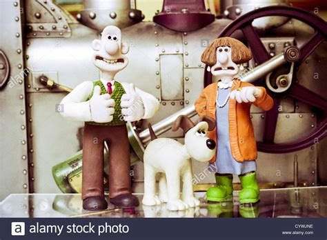 Characters Wallace Gromit Wendolene From The Oscar