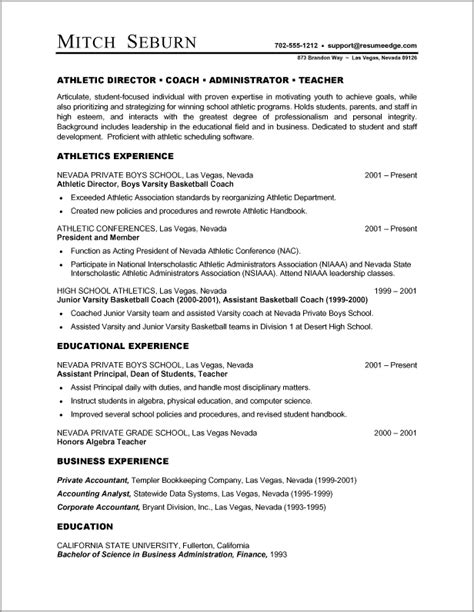 Formatting Resume For by A Resume Exle In The Combination Resume Format
