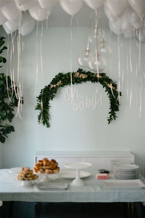 modern baby shower centerpieces 37 modern baby shower d 233 cor ideas that really inspire digsdigs