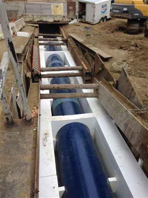 cellular concrete  cushion   fault  tunnel