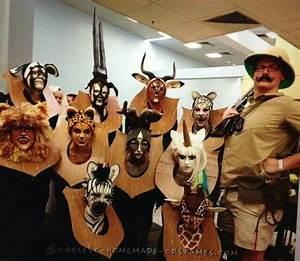 Fasching Kostüme Billig : hunting trophy halloween kost m halloween gruppen kost me ~ Frokenaadalensverden.com Haus und Dekorationen