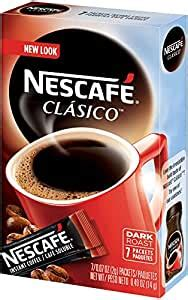How to make instant coffee extract below from wikihow. Amazon.com : Nescafe Clasico Instant Coffee, 8 Count Single Serve, 12 Count : Instant Coffee ...