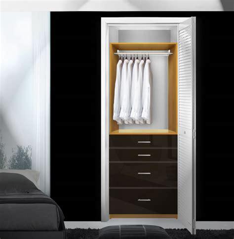 isa custom closet drawers for small closet organization