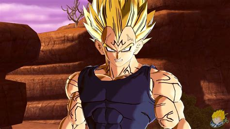 dragon ball xenoverse pc majin vegeta gameplay mod