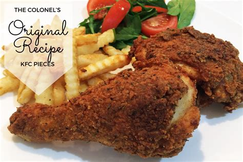 kentucky fried chicken recipe kfc original fried chicken recipe