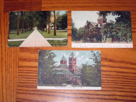 Ann Arbor University Of Michigan 3 Antique Postcards Campus Walk Museum Library Custom Antique Tin Signs Flea Market Lambertville Nj Old Wood Imitation Jewellery Chennai Markets In Maryland Shows French Marble Top Coffee Table Rocking Chair With Horsehair