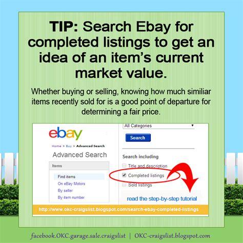 sales okc unique okc craigslist garage sales tip what s it worth use ebay tool to find a fair price
