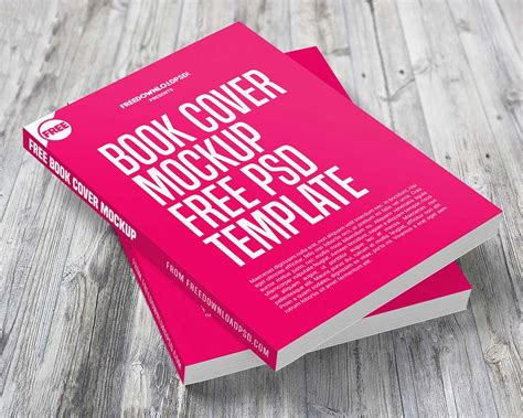 79 free book mockups psd templates for cover designs