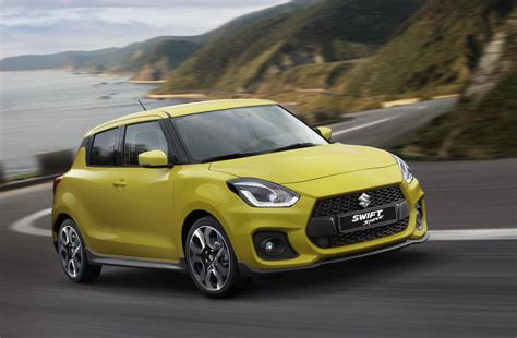 2018 Suzuki Swift Sport Debuts At Frankfurt Show With 14t
