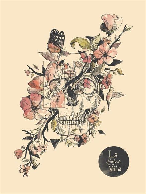 skull  flower tattoo designs  tattoo designs