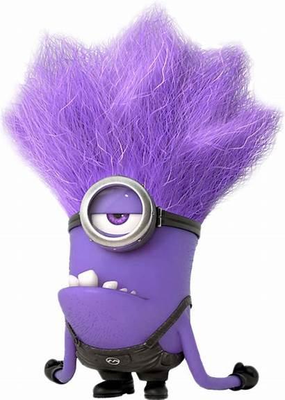 Minion Minions Purple Clipart Transparent Evil Roblox