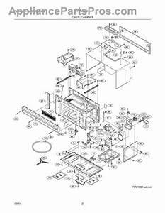 Parts For Frigidaire Fmv156dsa  Oven    Cabinet Parts