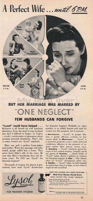 vintage ads         today