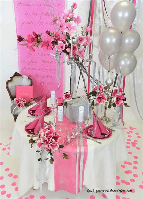 decoration pour table de mariage 17 best images about mariage fushia on search tahiti and bracelets