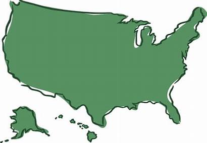 Map States Clipart United America Humanities Transparent