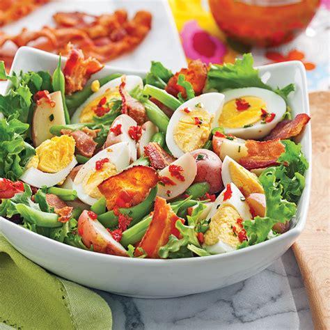 cuisiner la betterave salade de pommes de terre aux œufs et haricots verts