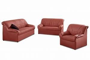 Couchgarnitur Leder 3 2 1 : leder garnitur 3 2 1 neuss orange sofas zum halben preis ~ Indierocktalk.com Haus und Dekorationen