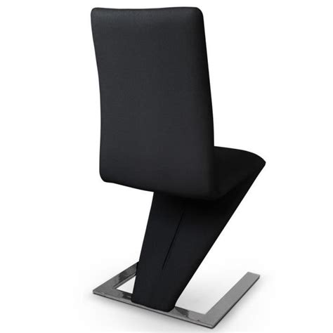 chaise pas cher lot de 6 lot de 6 chaises delano noir achat vente chaise salle a