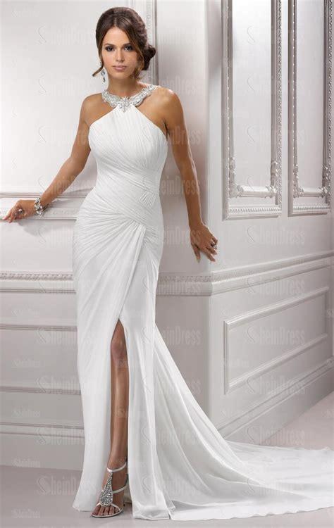Australia A Line Vintage Long Wedding Dress Hsnal0156