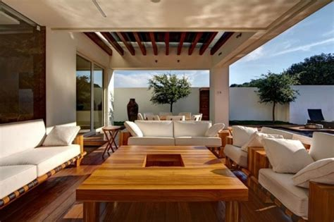 Covered terrace ? 50 ideas for patio roof of modern houses   Interior Design Ideas   AVSO.ORG
