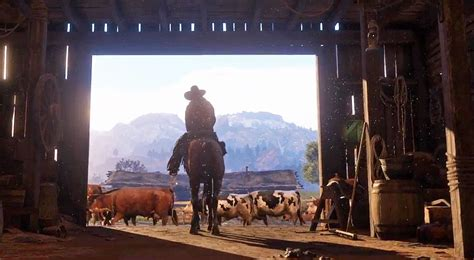 Canoes Red Dead 2 by Watch The Red Dead Redemption 2 Trailer Gametribute