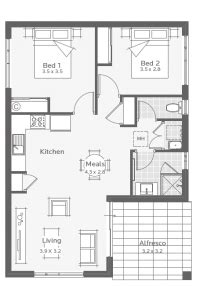 Granny Flat Designs in 2020 My house plans House plans