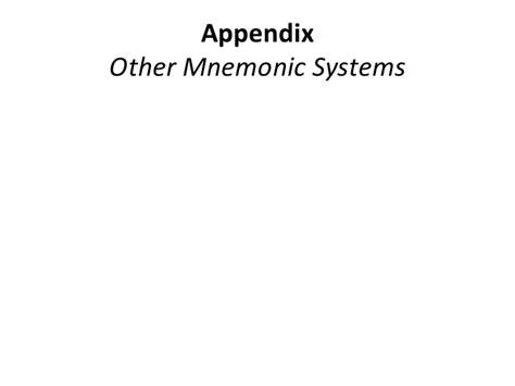 Periodic Table Mnemonic