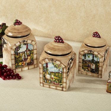 wine themed kitchen set best 25 kitchen canister sets ideas on