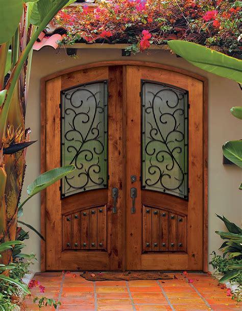 mediterranean front doors