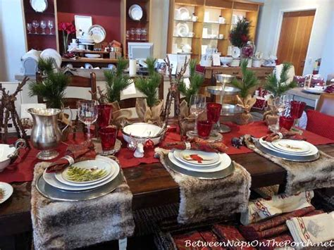 thanksgiving christmas tablescapes  pottery barn