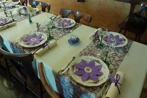 Deco De Table Communion : d co de table communion ~ Melissatoandfro.com Idées de Décoration